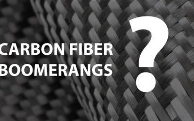 Carbon fiber boomerangs?