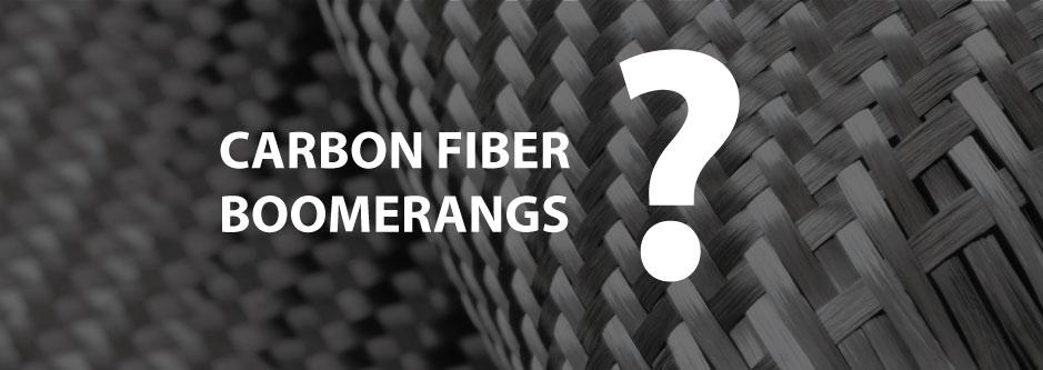 carbon fiber boomerangs